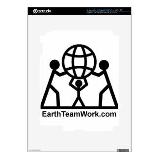 EarthTeamWork iPad 3 Skin