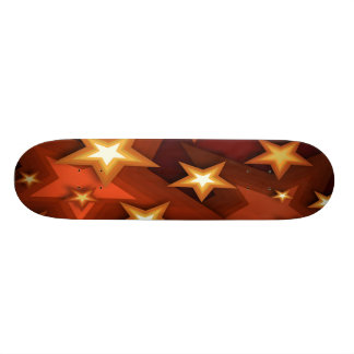 Earthtone Stars Skateboard