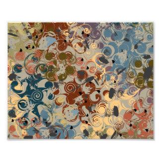 Earthtone Swirl Photo Print