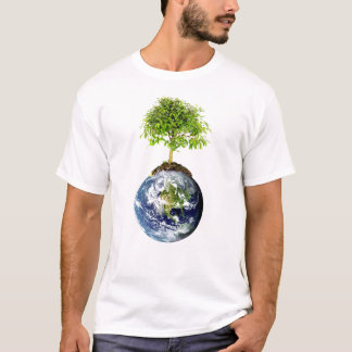 EarthTree w/ E.O. Wilson Quote on Back T-Shirt
