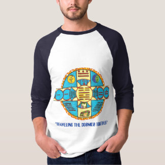 "EarthWalk, ""TRAVELING THE COSMOS TOGETHER"" T-Shirt"