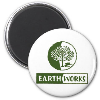 EarthWorks gleaning gear! 2 Inch Round Magnet