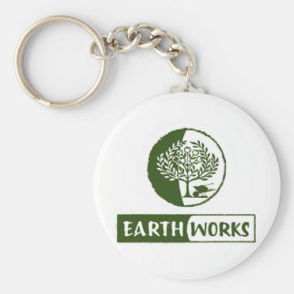 EarthWorks gleaning gear! Basic Round Button Keychain