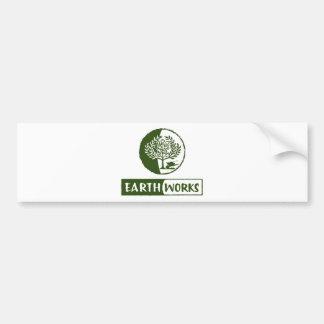 EarthWorks gleaning gear! Car Bumper Sticker