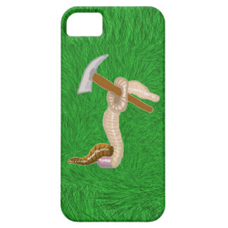 Earthworm Claude And His Gardening Hoe iPhone SE/5/5s Case