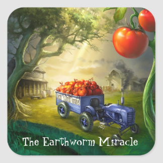Earthworm Miracle stickers