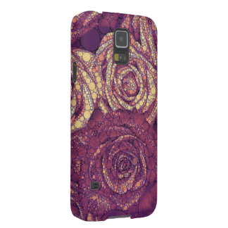 Earthy Abstract Roses Galaxy S5 Case