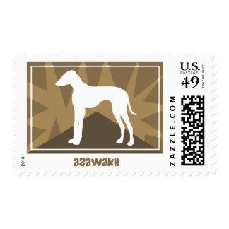 Earthy Azawakh Postage Stamps