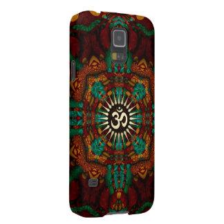 Earthy Batik  Gold Aum Galaxy Nexus Galaxy S5 Case