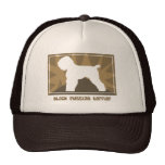Earthy Black Russian Terrier Trucker Hat