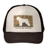 Earthy Bouvier des Flandres Gifts Trucker Hats