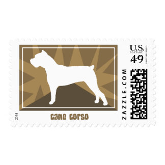 Earthy Cane Corso Postage Stamps
