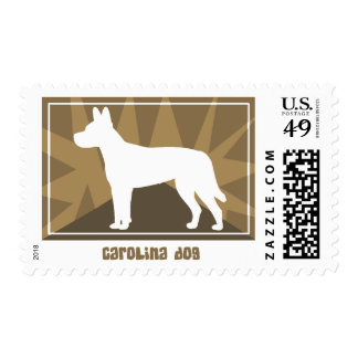 Earthy Carolina Dog Postage Stamps