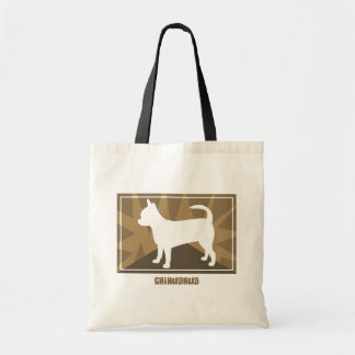 Earthy Chihuahua Tote Bag