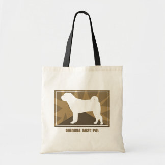 Earthy Chinese Shar Pei Bag