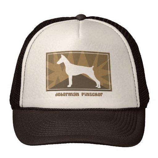 Earthy Doberman Pinscher Hat