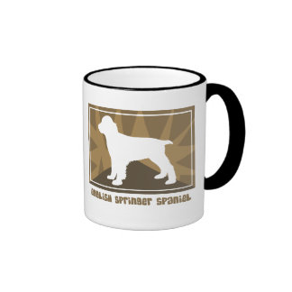 Earthy English Springer Spaniel Mug