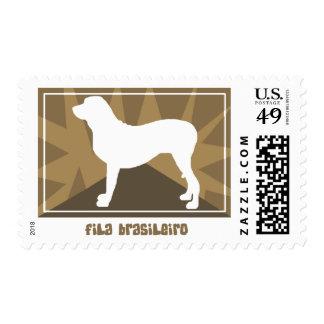 Earthy Fila Brasileiro Postage Stamps