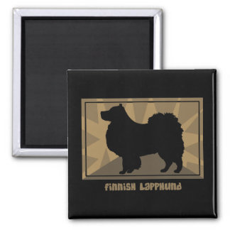 Earthy Finnish Lapphund Magnet