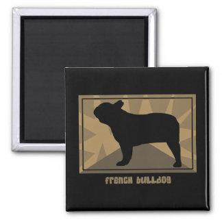 Earthy French Bulldog Fridge Magnets