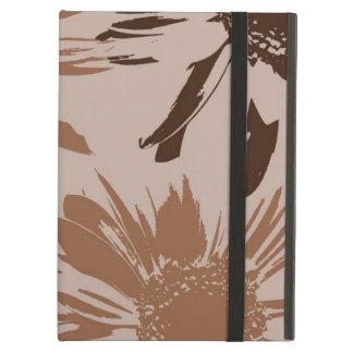 Earthy Gerbera Flowers iPad Cover