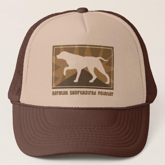 Earthy German Shorthaired Pointer Trucker Hat