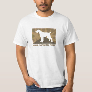 Earthy German Wirehaired Pointer T Shirt