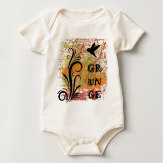 Earthy Grunge Hummingbird Organic Plus T-Shirt