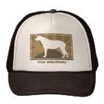 Earthy Irish Wolfhound Hat