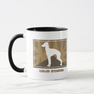 Earthy Italian Greyhound Mug