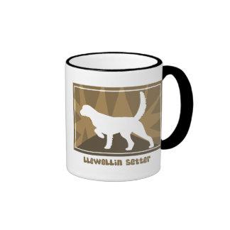 Earthy Llewellin Setter Ringer Coffee Mug