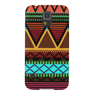 Earthy Neon Modern Tribal Galaxy S5 Cover