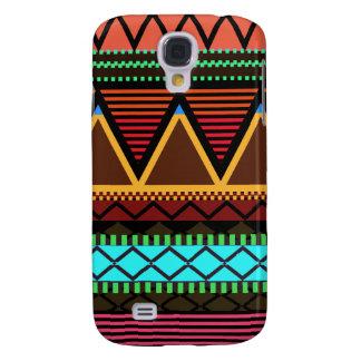 Earthy Neon Modern Tribal Samsung Galaxy S4 Cover