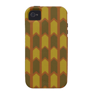 Earthy Panel Fence iPhone 4/4S Case