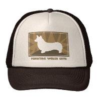 Earthy Pembroke Welsh Corgi Hat