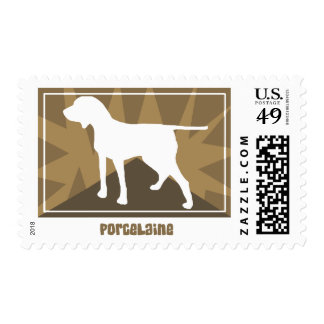 Earthy Porcelaine Postage Stamps