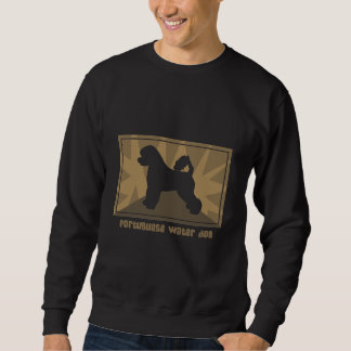 Earthy Portuguese Water Dog Sweatshirt