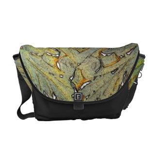"""Earthy Regal"" Design By Glenn McCarthy Courier Bag"