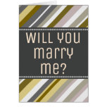 "[ Thumbnail: Earthy, Rustic ""Will You Marry Me?"" Card ]"