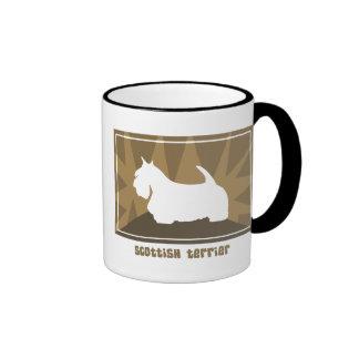 Earthy Scottish Terrier Mug