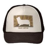 Earthy Silky Terrier Trucker Hat