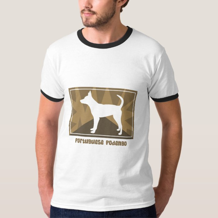 Earthy Smooth Portuguese Podengo T-Shirt