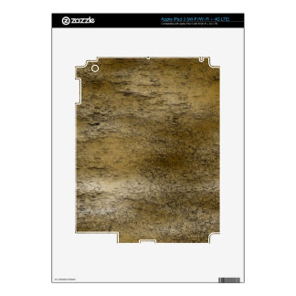 Earthy Texture Rustic Effects Electronics Skins iPad 3 Decal