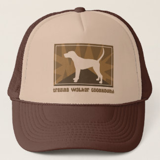 Earthy Treeing Walker Coonhound Trucker Hat