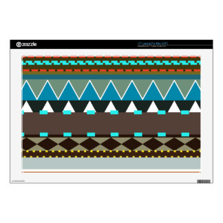 """Earthy Tribal Inspired 17"""" Laptop Decals"""