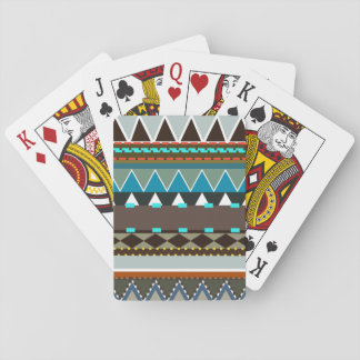 Earthy Tribal Inspired Playing Cards