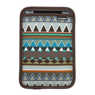 Earthy Tribal Inspired Sleeve For iPad Mini