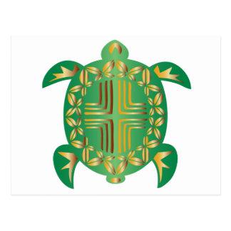Earthy-Turtle Postcard