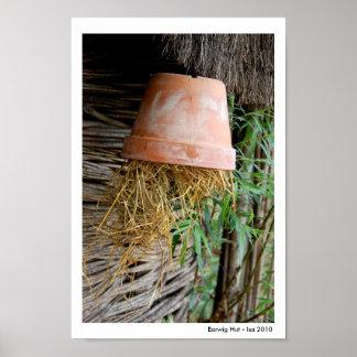 Earwig Hut Poster