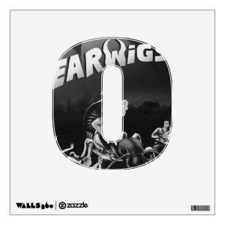 EARWIGS HORROR DECAL WALL SKIN
